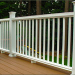 Nice deck with white railings