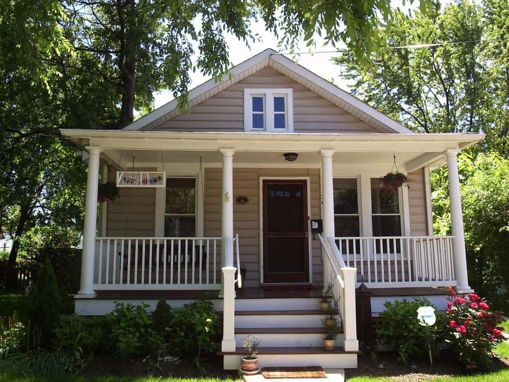 Front porch and ultimate curb appeal
