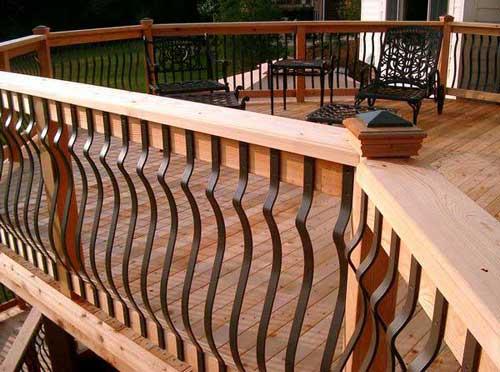 Modern Deck Railing Systems Design