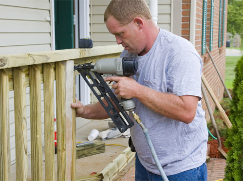 DIY Railing installations for your porch