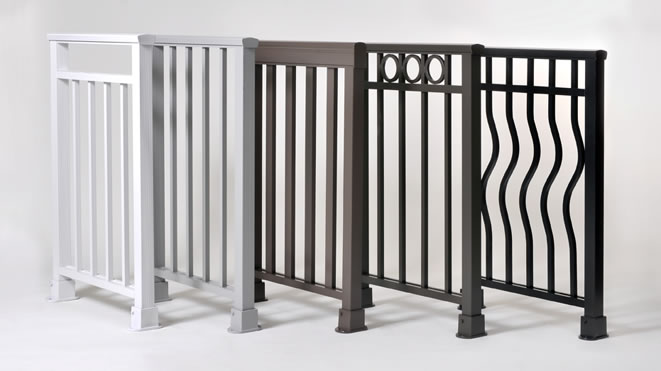 Residential Porch Wrought Iron Railing Designs