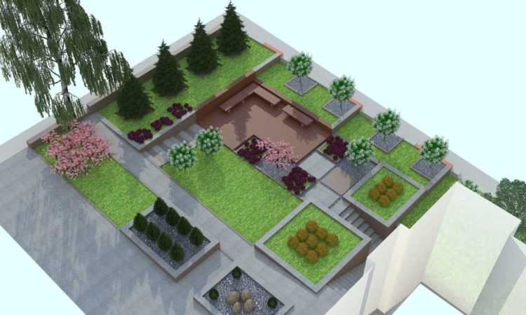 Garden Designs And Layouts >> Landscaping Design Layouts And Garden Design Plans